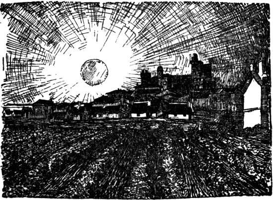 Vincent Van Gogh - Sunset