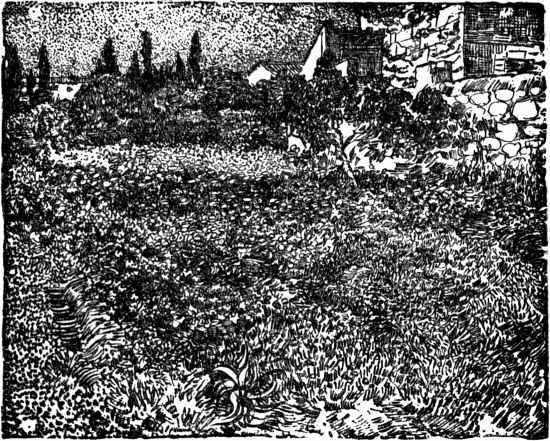 Vincent van Gogh - Field near village