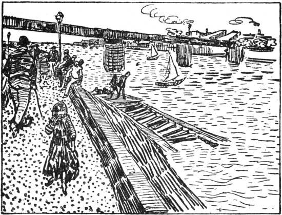 Vincent van Gogh - Quayside