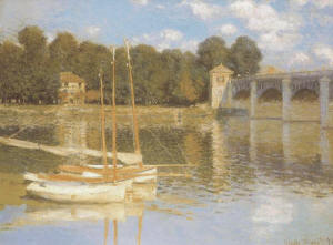 Monet - Bridge at Argenteuil