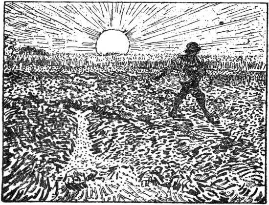 Vincent van Gogh - Sower