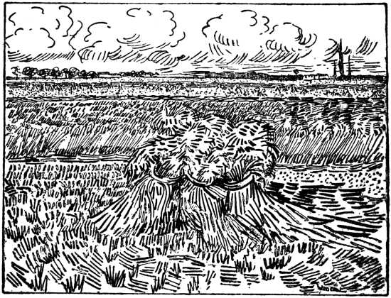 Vincent van Gogh - Wheetsheafs
