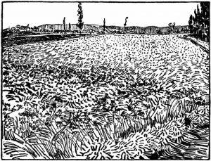 Vincent van Gogh - Wheatfield