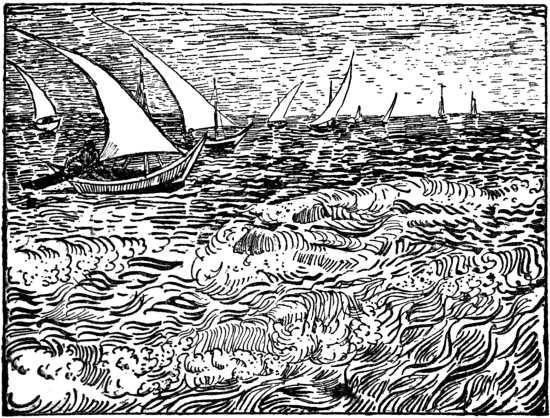 Van Gogh - Sailing Ships