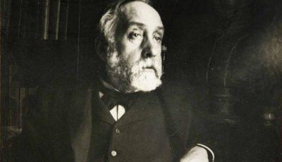 Edgar Degas - self-portrait photograph