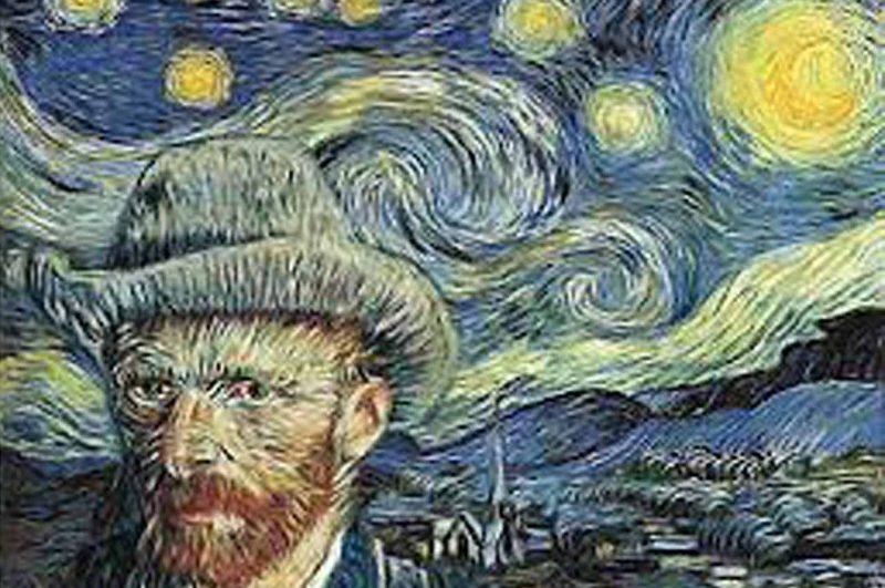 Van Gogh with Starry Night